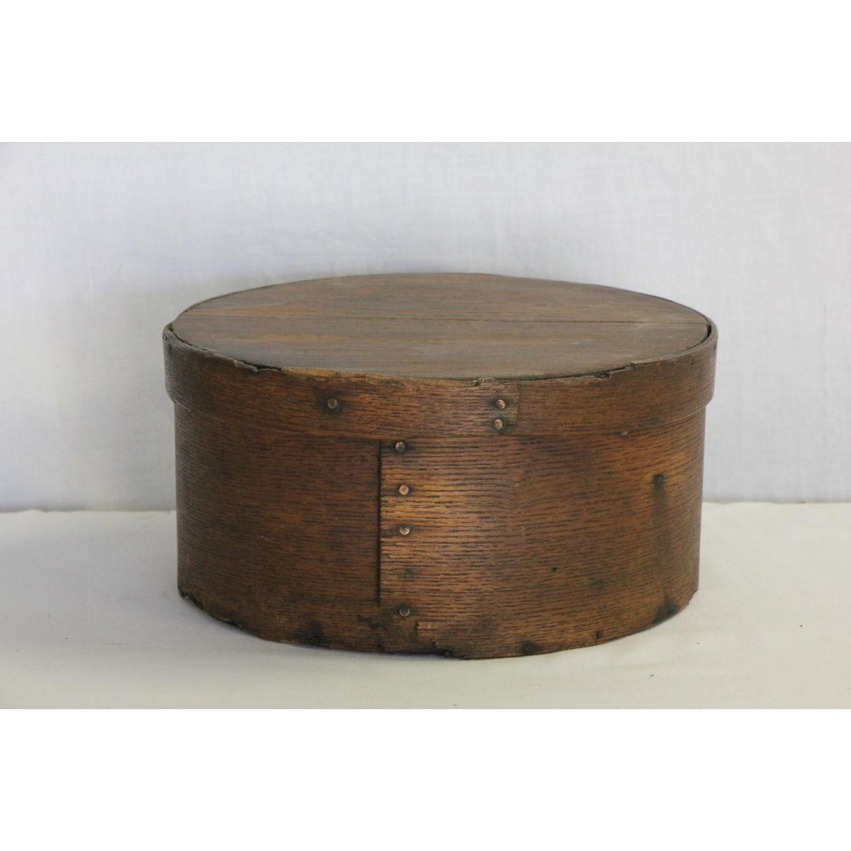 Medium Size Nice Patina Original Wood Pantry Box