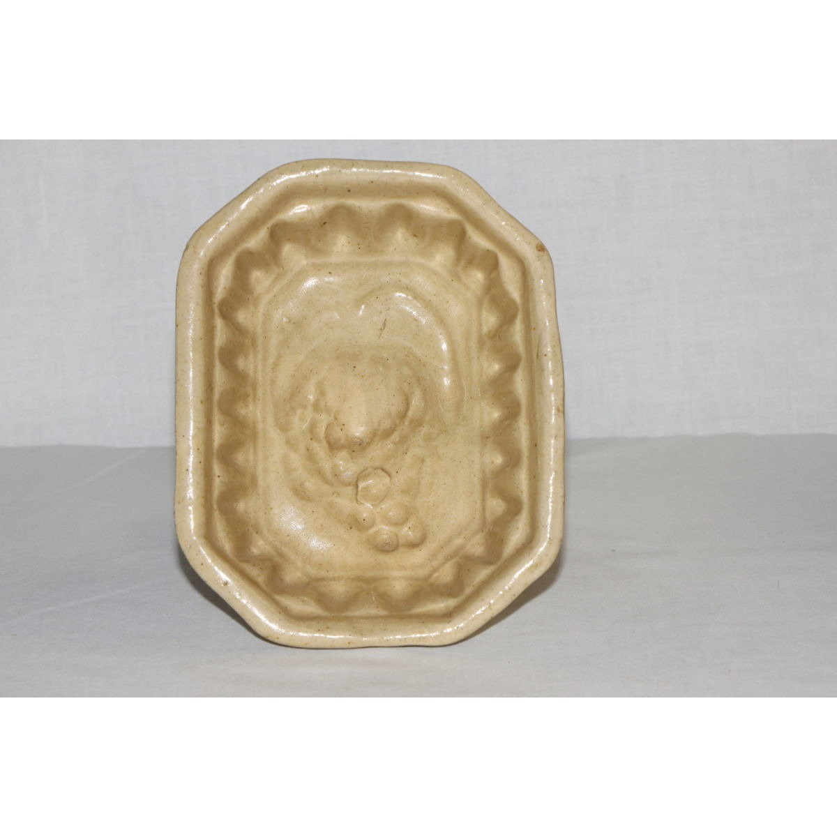 Yellowware Octagonal Grape Mold