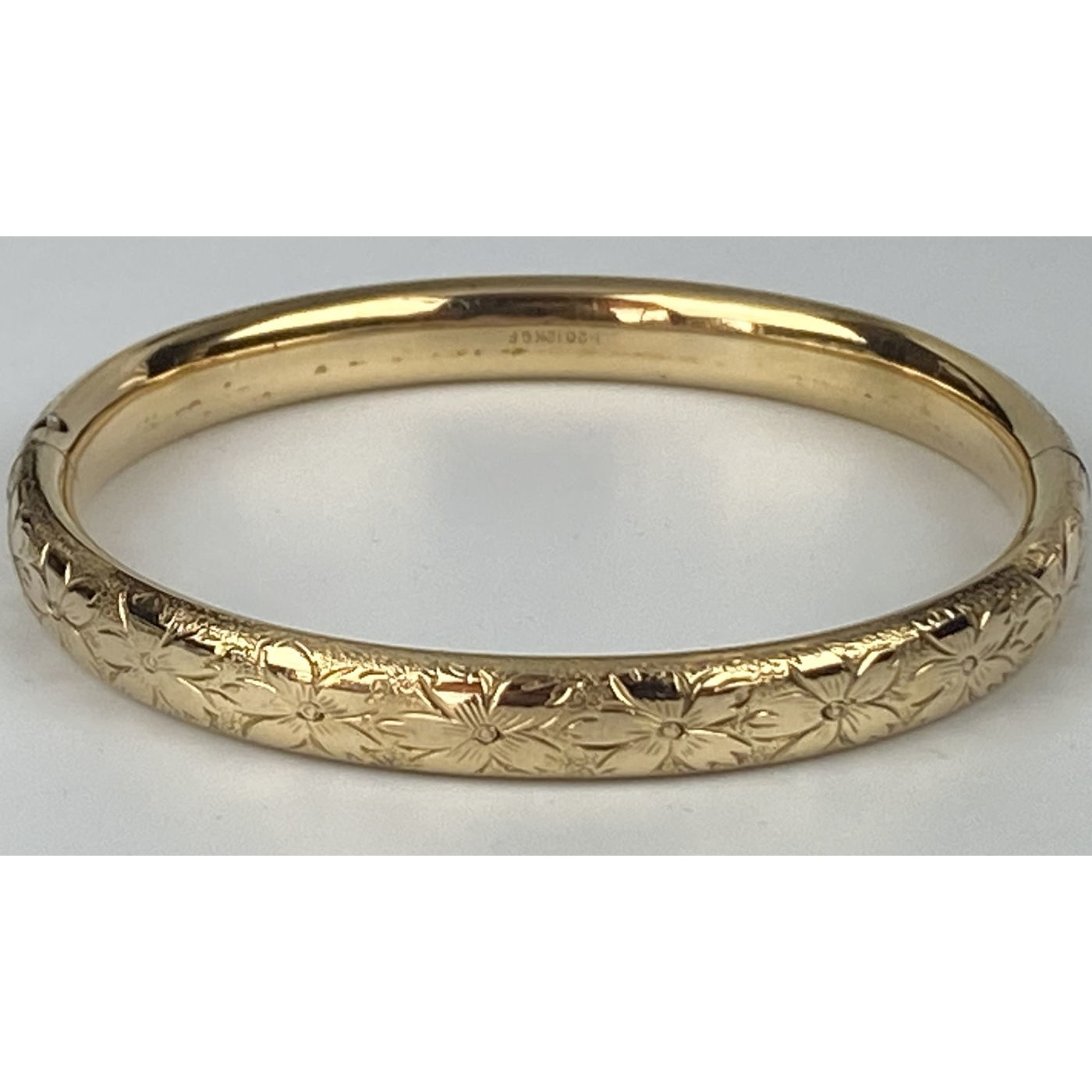 Super Sweet Smaller-Than-Average All Around Engagement Bangle