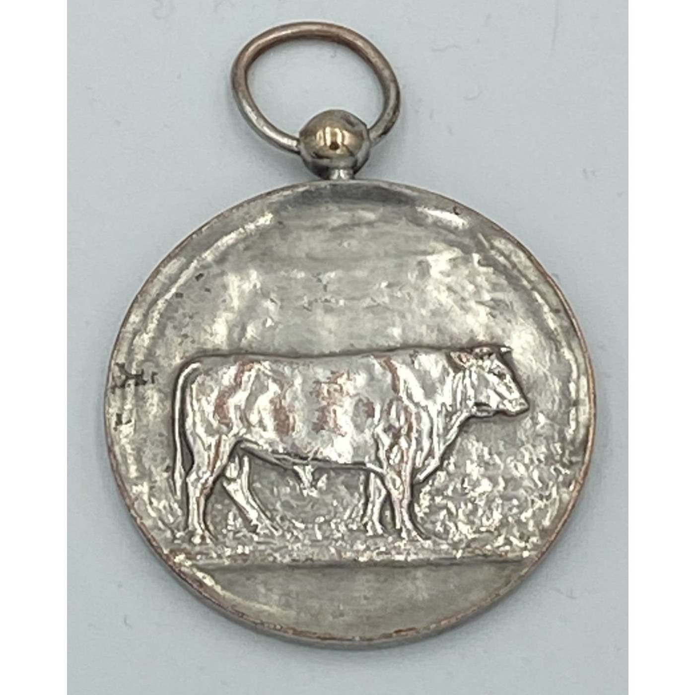 Unpredictable Large Simple Cow Agricultural Medal
