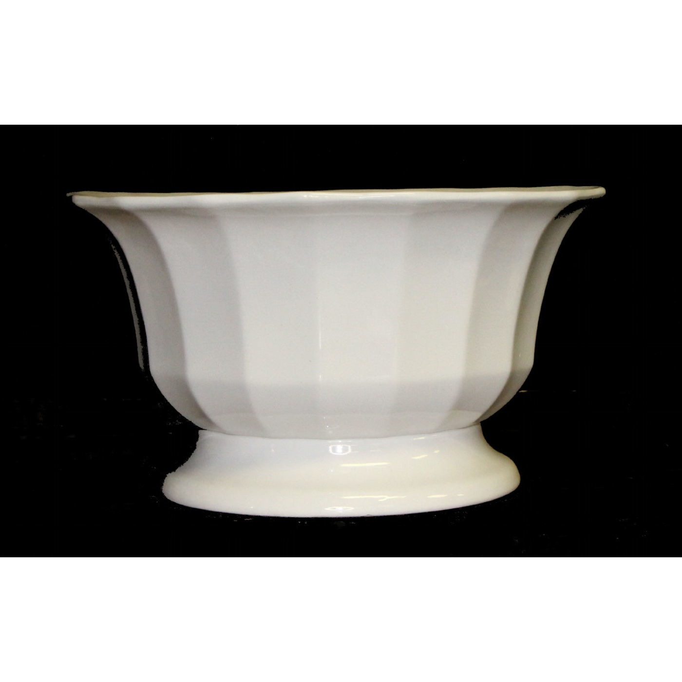 RARE Fluted Flared Centerpiece Bowl