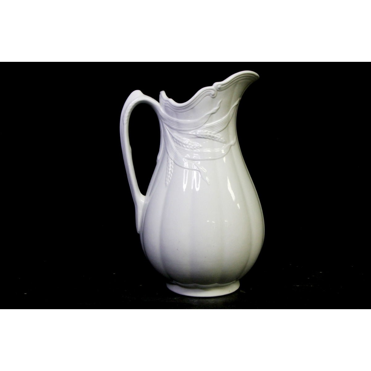 Beautiful Ceres Wheat Ironstone Ewer Tall Pitcher