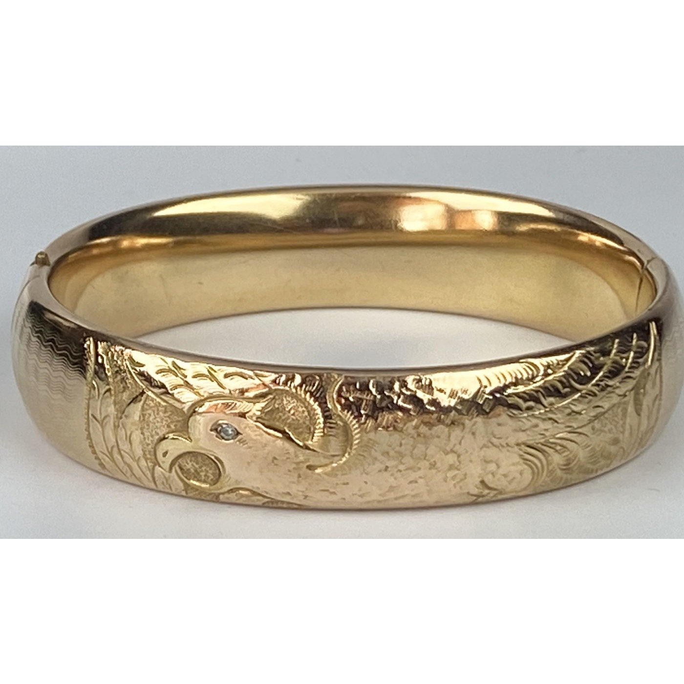 RARE Eagle Patriotic Engagement Bangle - Unlike Any Other