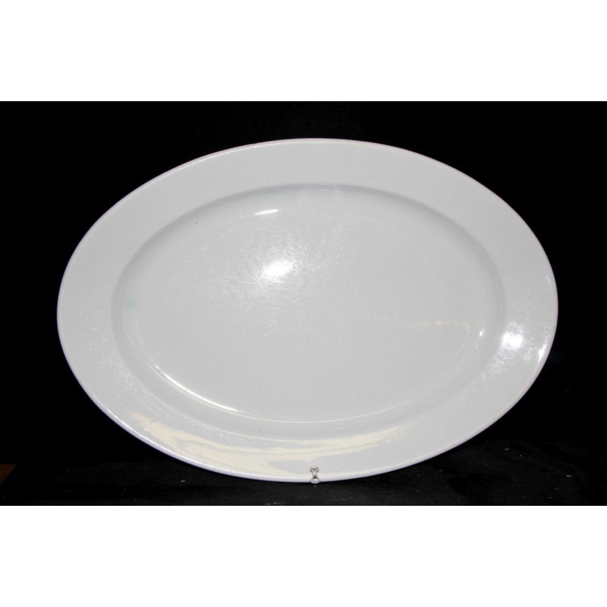 Large Plain Ironstone Platter