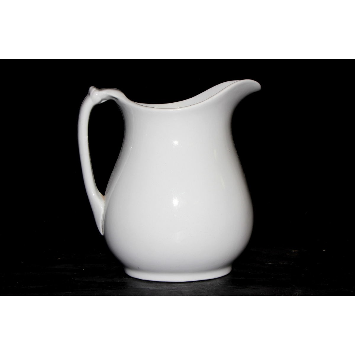 Completely Plain and Simple Ironstone Table Milk Pitcher