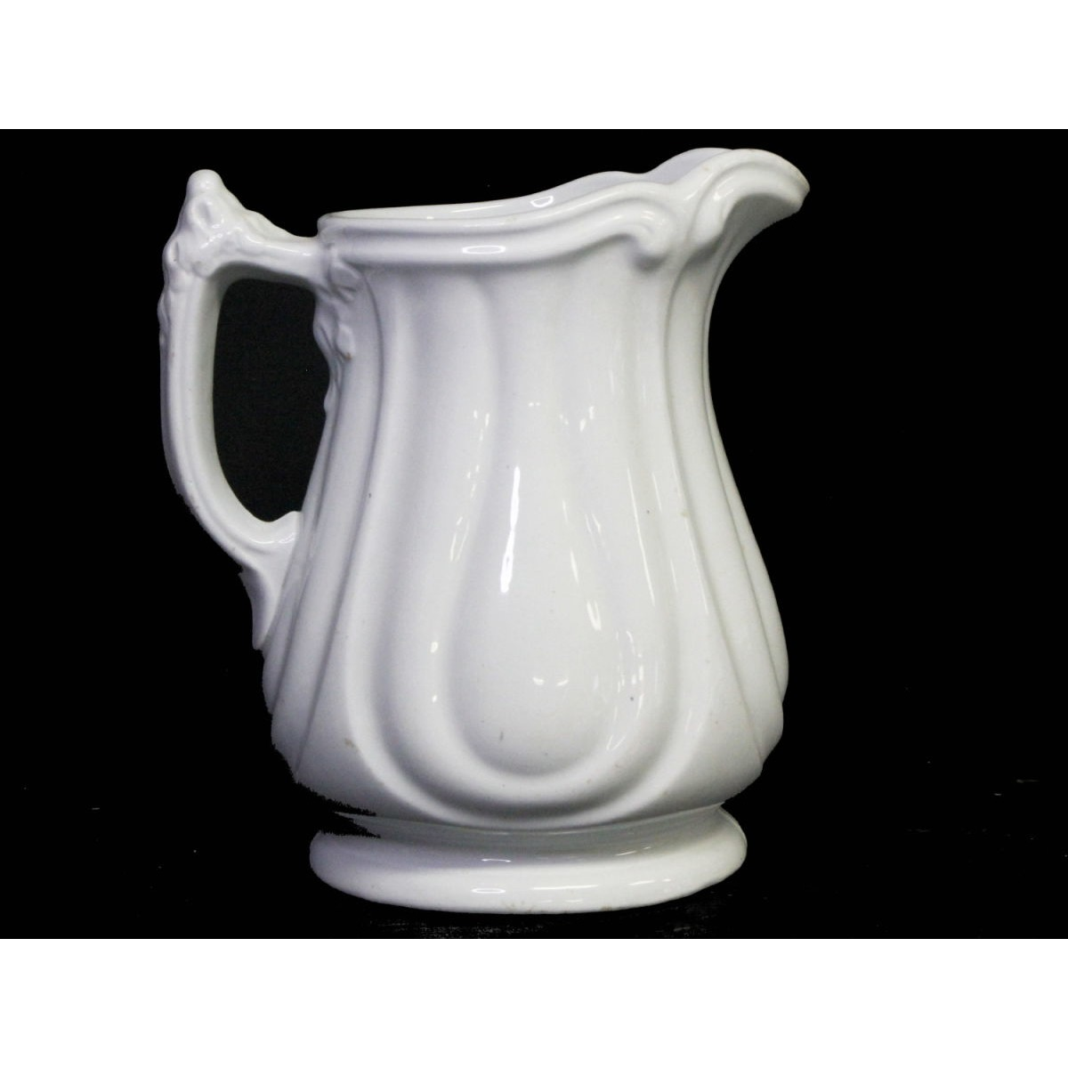Fabulous Grand Loop & Line Ironstone Pitcher - Jacob Furnival