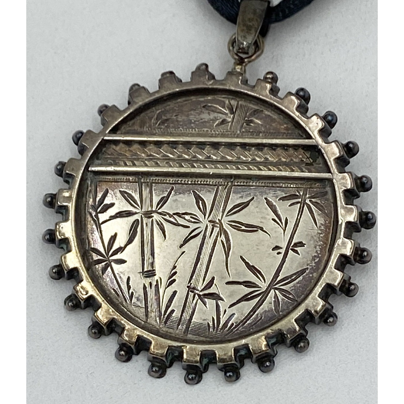 Victorian Sterling Silver Aesthetic Pendant