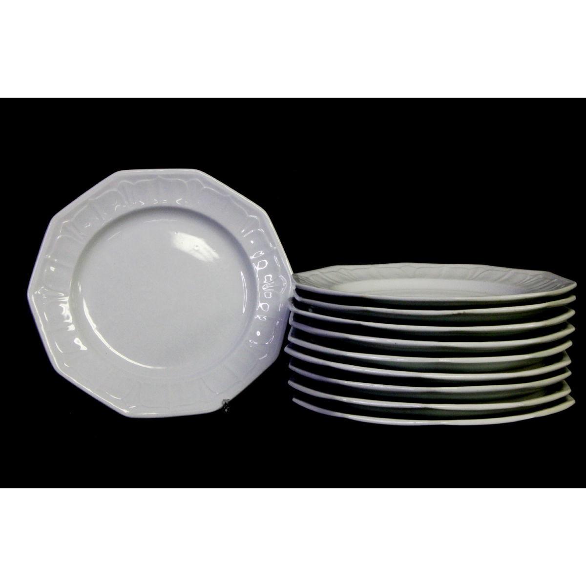 "Fabulous 10"" Large Sydenham Ironstone Dinner Plates"