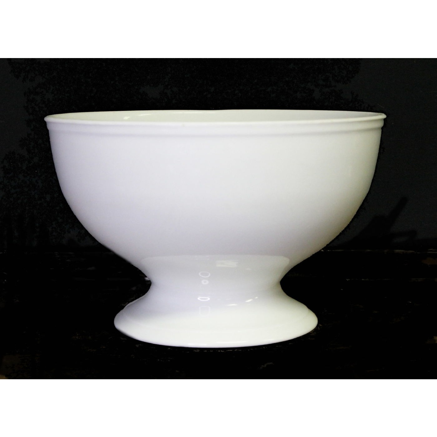 Unusual Shape Early Boote Ironstone Punch Pedestal Footed Bowl