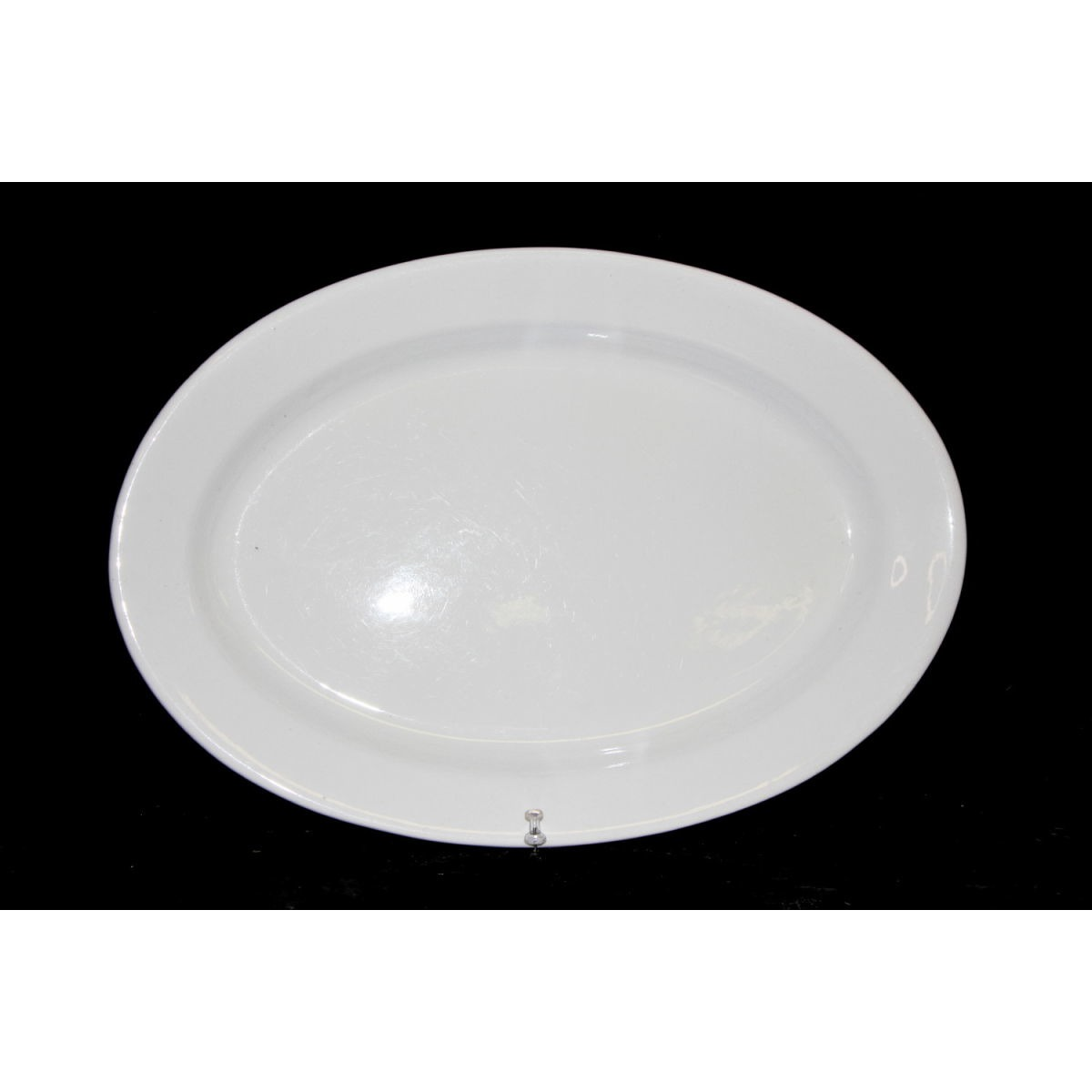 Medium Sized Plain Ironstone Platter