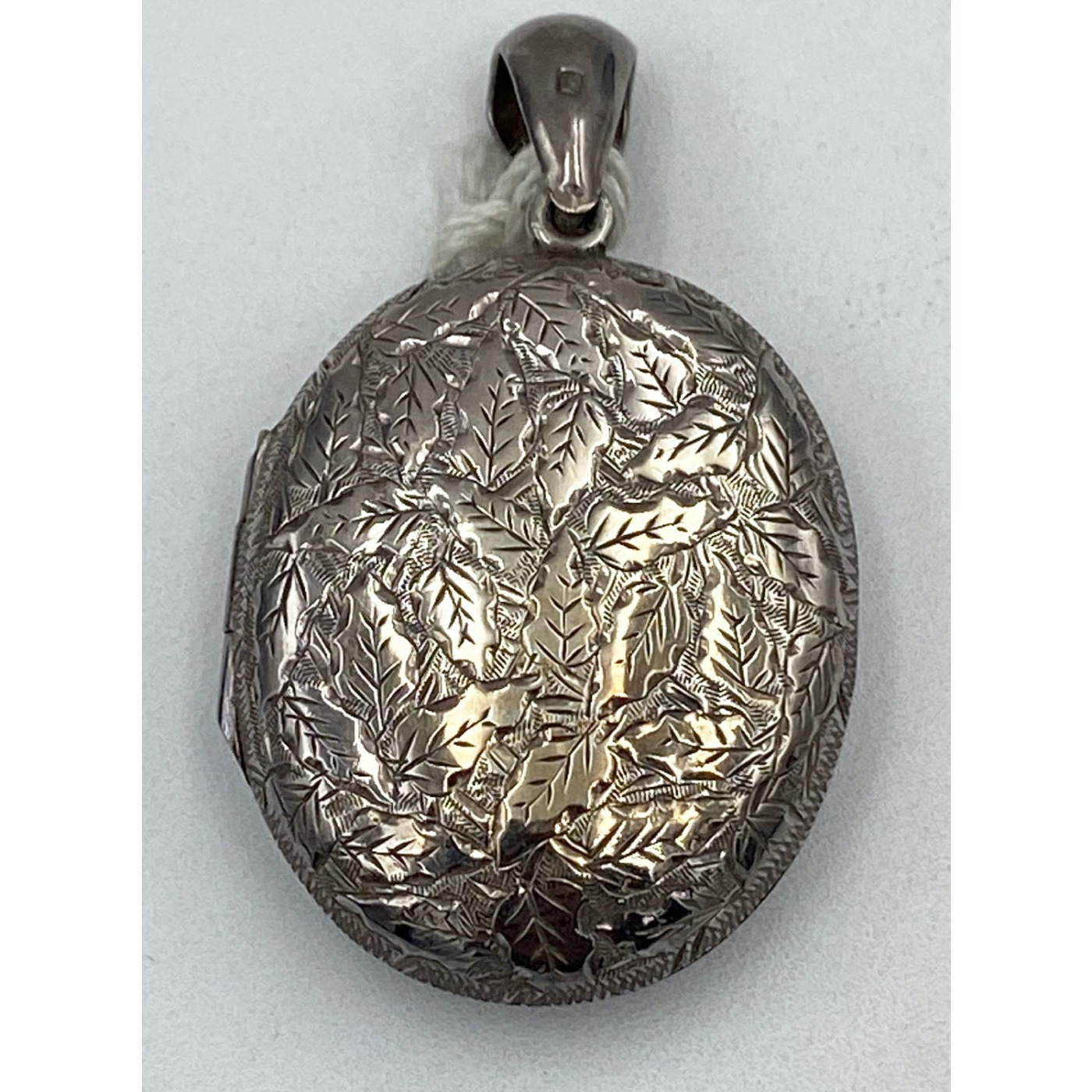 Fabulous Intricate Floral Hallmarked Victorian English Locket