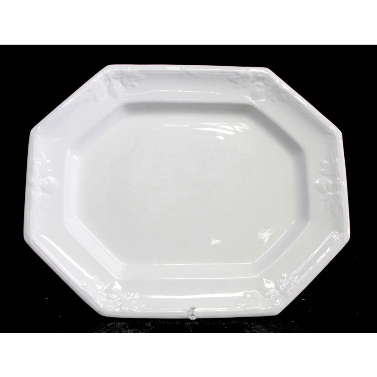 Large Fabulous Fig Ironstone Platter