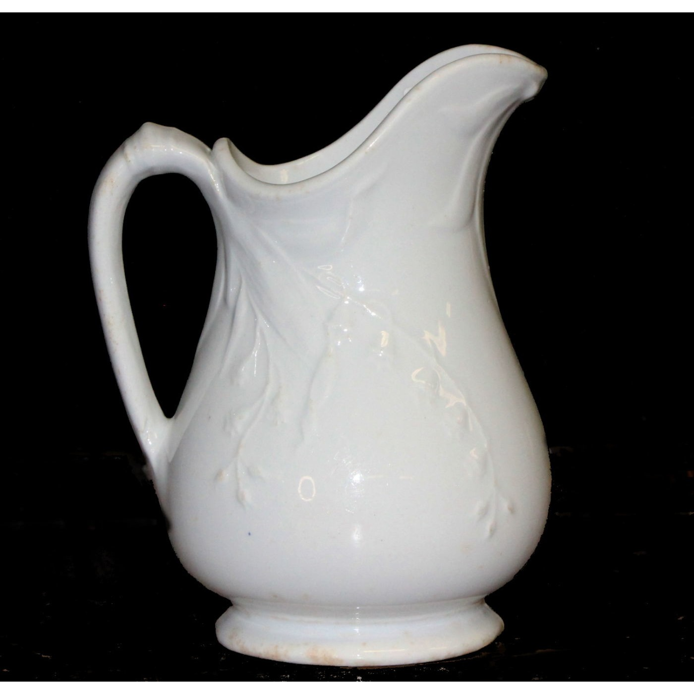Pretty Forget-Me-Not Floral Ironstone Creamer