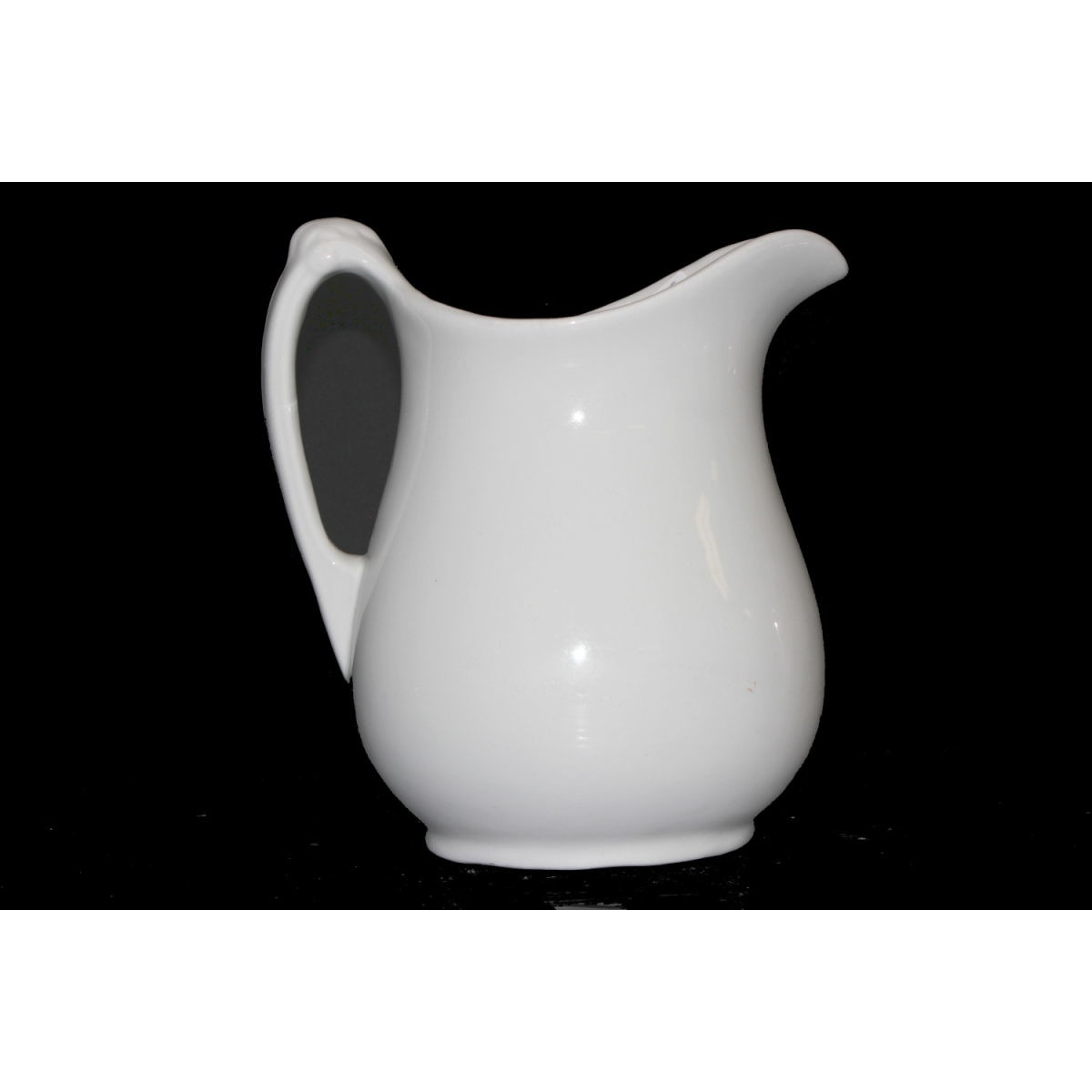 Grand Plain Oversize Ironstone Water/Table Pitcher