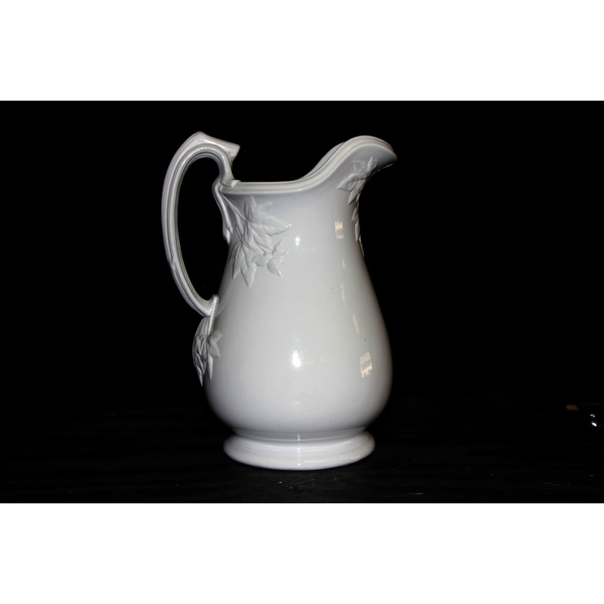 Superb Fig Ironstone Water Table Pitcher