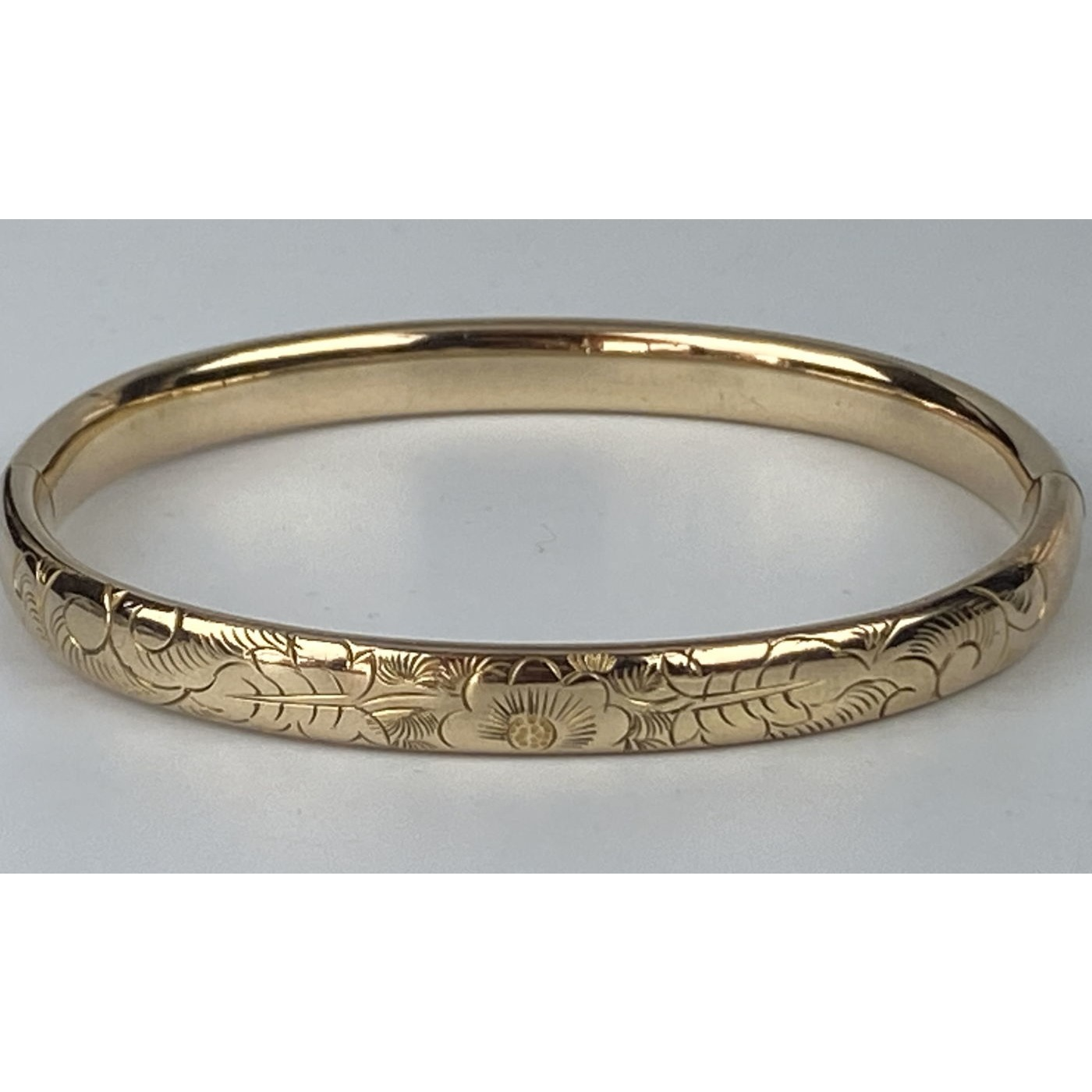 Super Sweet Smaller-Than-Average Engagement Bangle